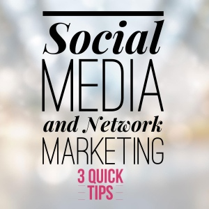 social media and network marketing
