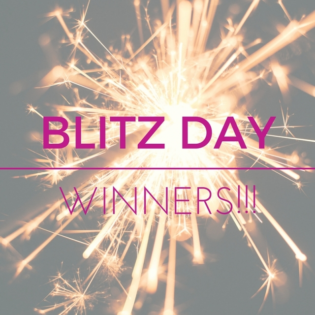 BLITZ DAY winners